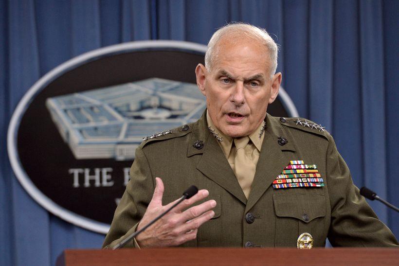 General John F. Kelly in 2014