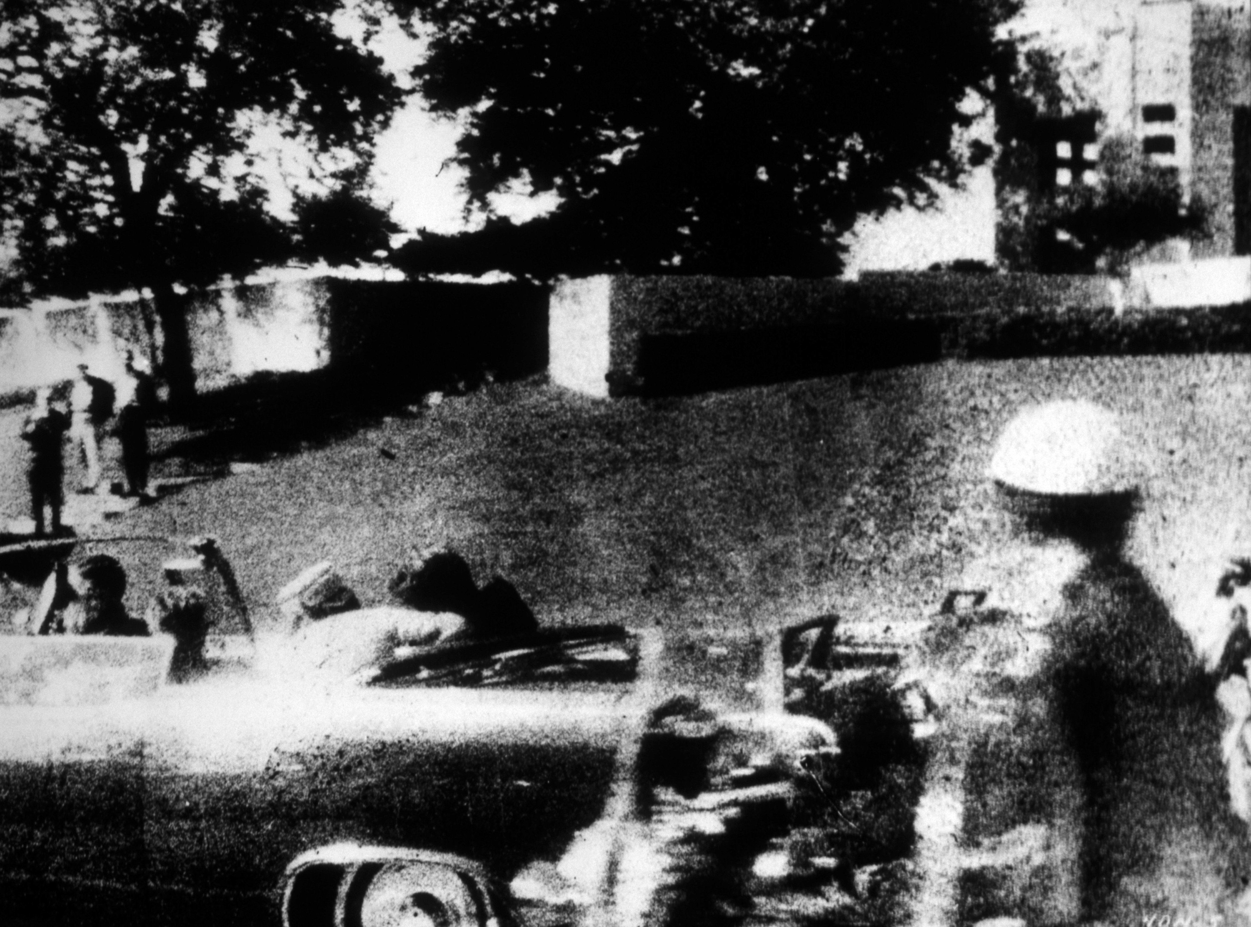 The moment President John F. Kennedy was shot in Dallas, Texas on November 22,