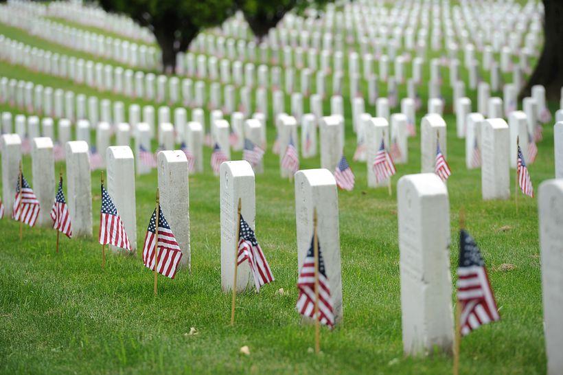 Arlington National Cemetery in Arlington, Va., May 17, 2013