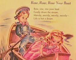 "1947 matted print nursery rhyme <a rel=""nofollow"" href=""https://www.etsy.com/"" target=""_blank"">www.etsy.com</a>"
