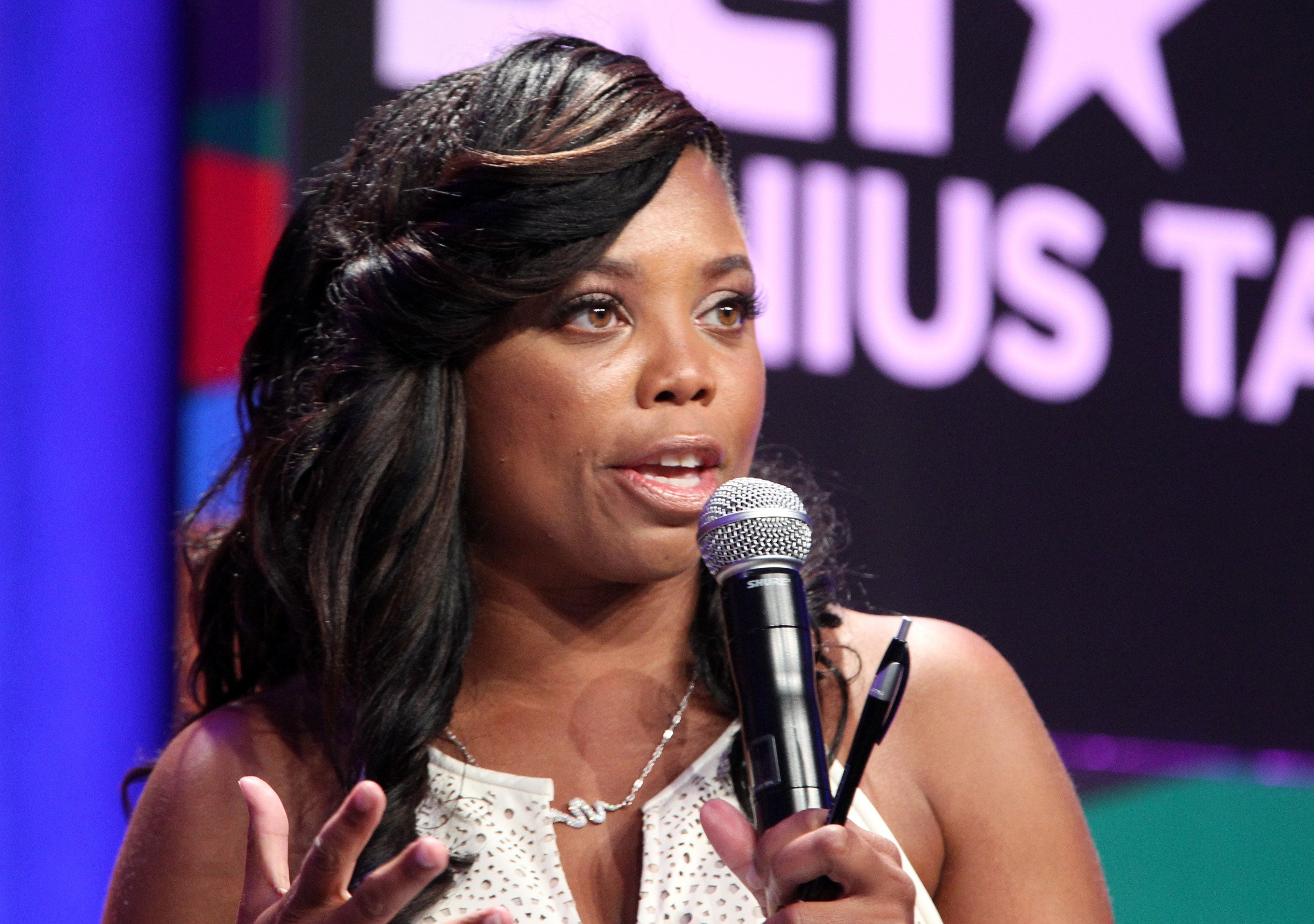 Jemele Hill the SportsCenter host on ESPN whose tweets last month calling President Trump a white supremacist caused the White House to call for her