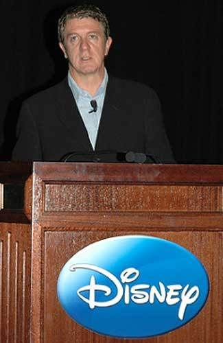Andrew Mooney, President of Disney Consumer Products