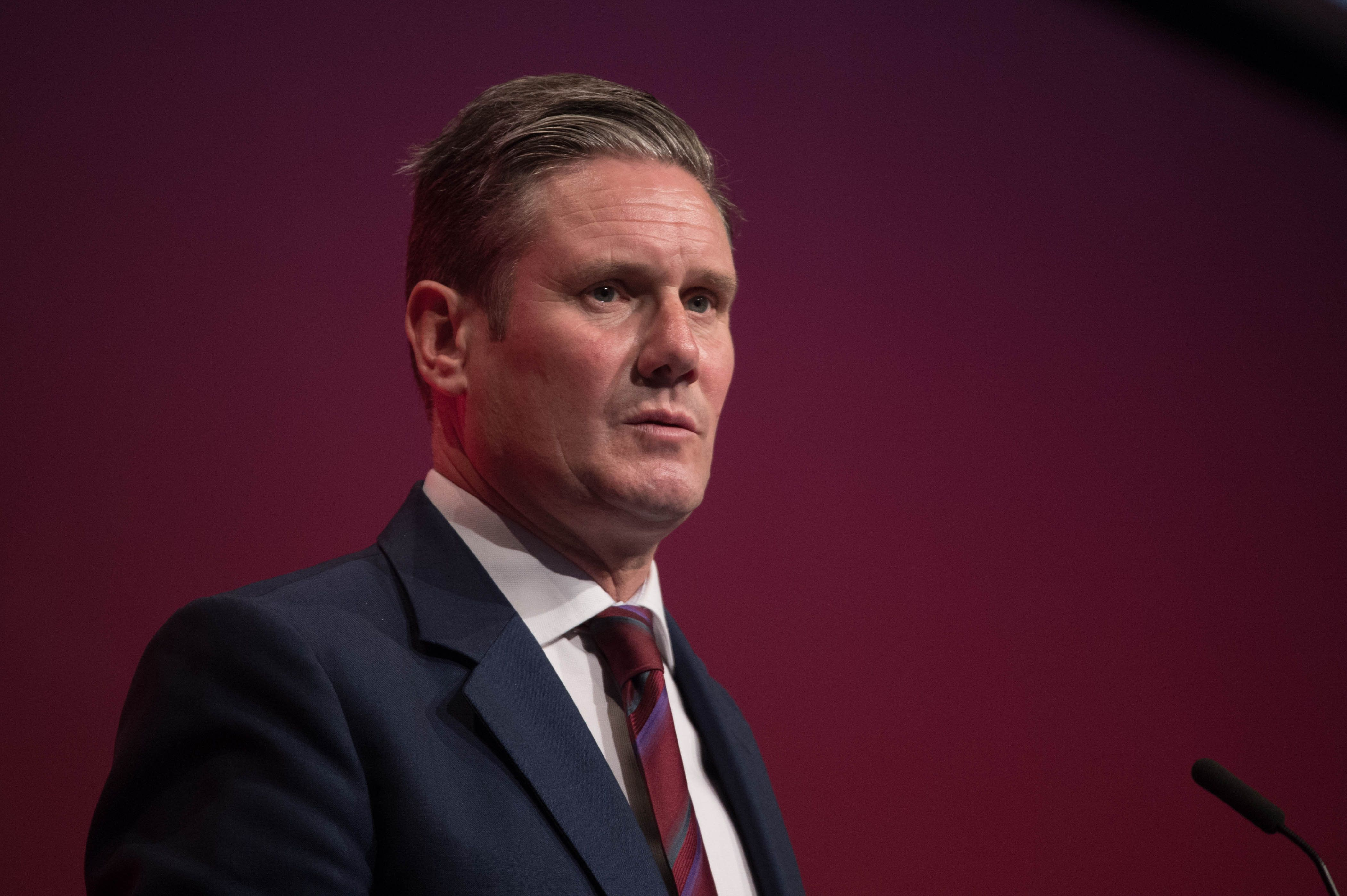 Sir Keir Starmer warned Labour would back Tory rebels if Theresa May did not meet his six