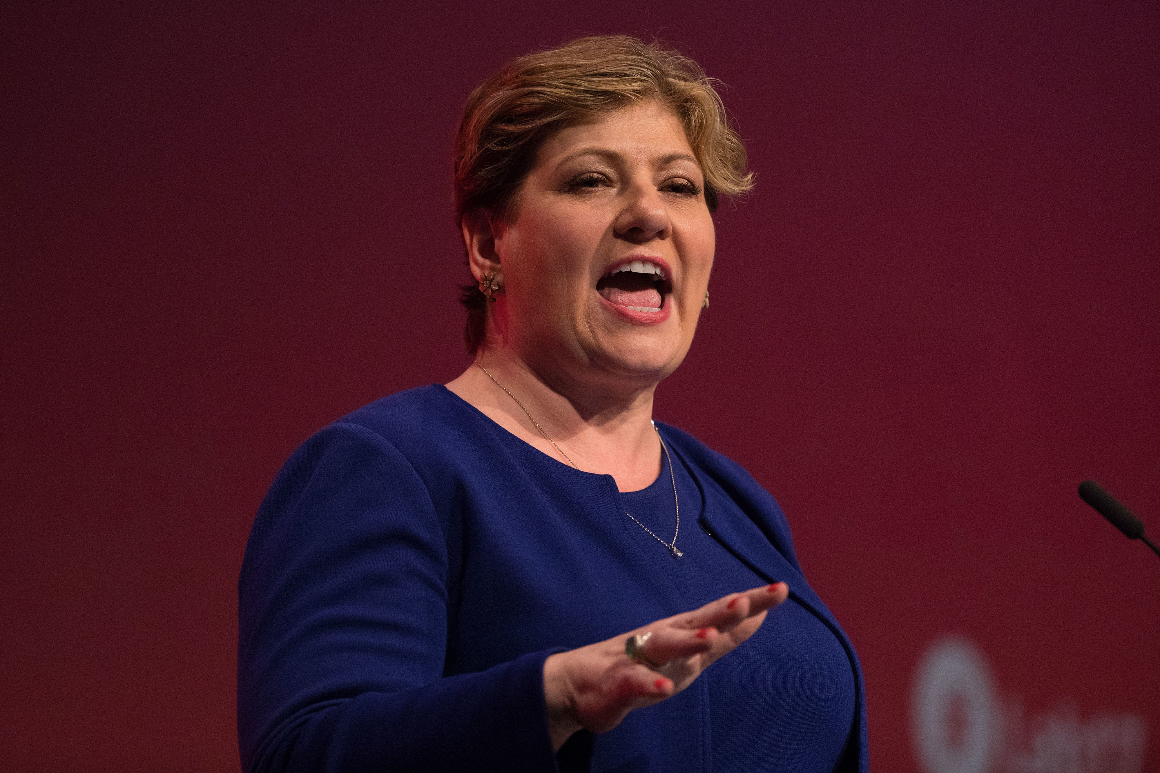 Emily Thornberry Says UK Is Heading For No Brexit Deal Because Theresa May Is Too