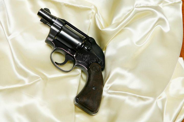 The Colt Cobra revolver used by Jack Ruby to kill Lee Harvey Oswald.