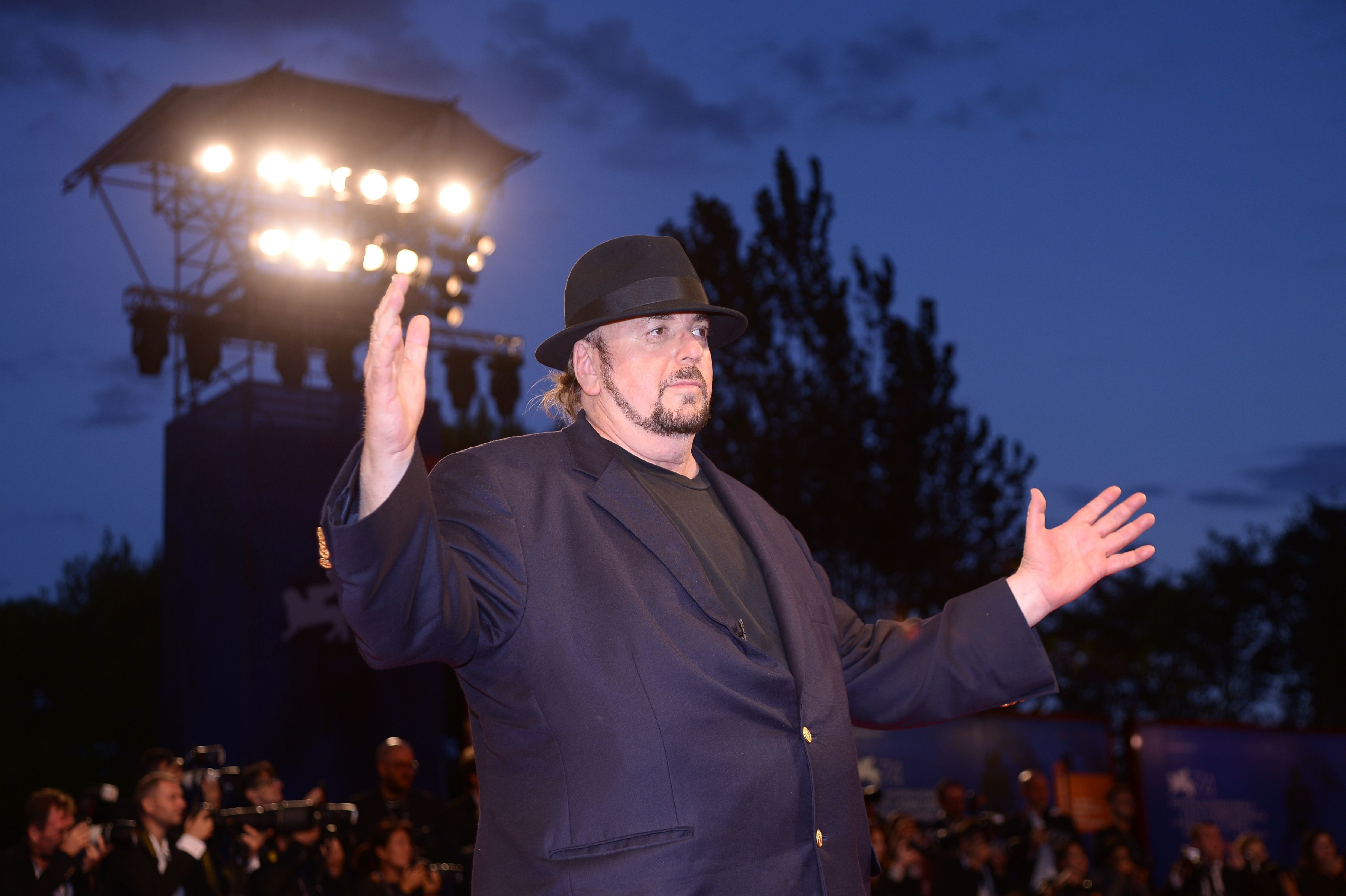 James Toback attends the premiere of the movie 'The Private Life of a modern Woman' presented out of competition at the 74th Venice Film Festival on September 3, 2017 at Venice Lido.  / AFP PHOTO / Filippo MONTEFORTE        (Photo credit should read FILIPPO MONTEFORTE/AFP/Getty Images)