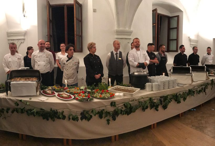 Historical dinner in Lublin, August 2017
