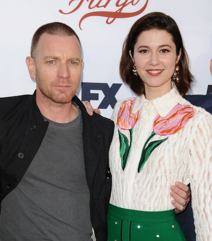 "McGregor and Winstead at a ""Fargo"" event in May."