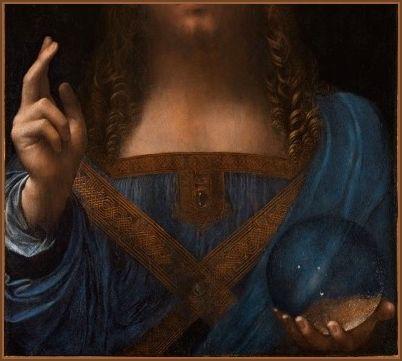 (Detail) <em>Salvator Mundi</em>