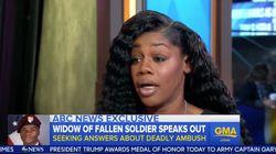 Widow Of Fallen U.S. Soldier Confirms Congresswoman Was Right About