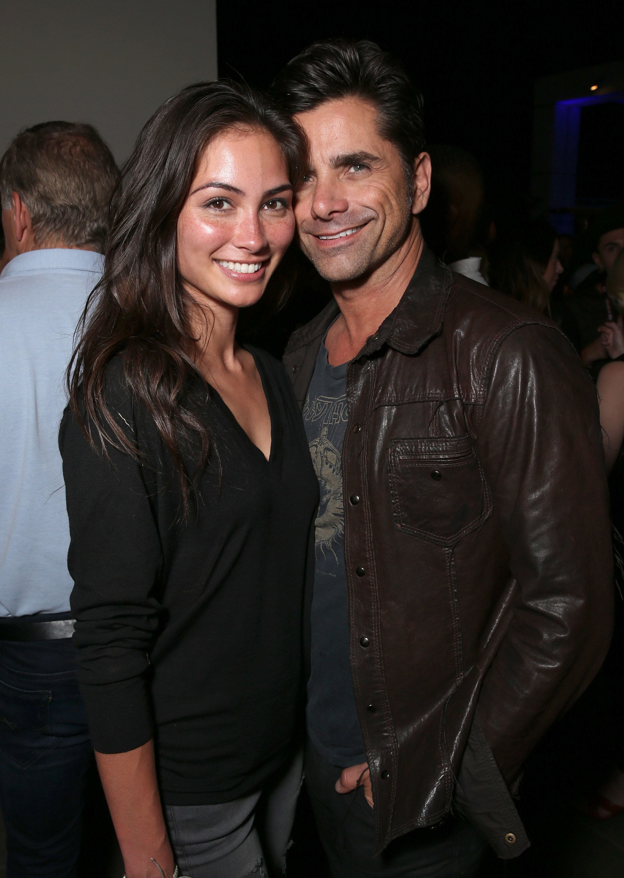 SAN DIEGO, CA - JULY 22:  Caitlin McHugh and John Stamos attend the Comic-Con International 2016 - 20th Century Fox Party at Andaz Hotel on July 22, 2016 in San Diego, California.  (Photo by Todd Williamson/Getty Images)