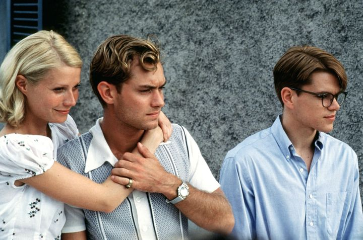 "Gwyneth Paltrow, Jude Law and Matt Damon in ""The Talented Mr. Ripley."""