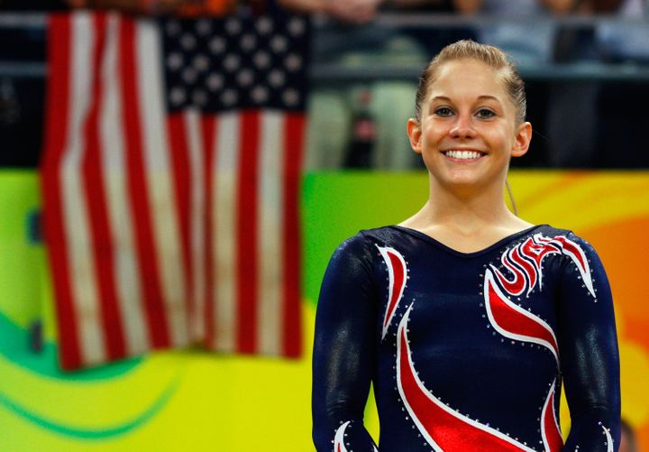 Shawn Johnson who competed in the 2008 Summer Olympics.