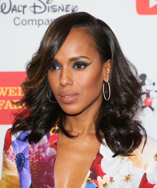 Kerry Washington attends the 2017 GLSEN Respect Awards on