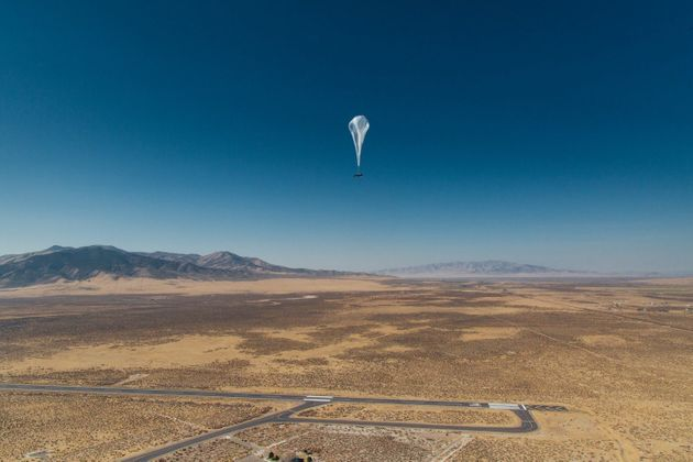 These Super-Balloons Provide 4G Connectivity For Puerto