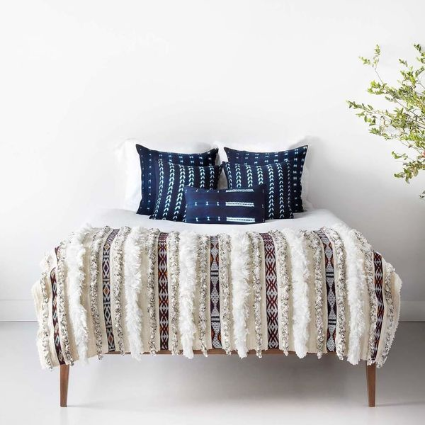 """Get them <a href=""""https://the-citizenry.myshopify.com/products/bakoy-indigo-throw-pillows"""" target=""""_blank"""">here</a>."""