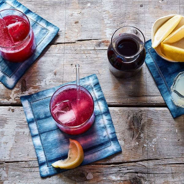 """Get them <a href=""""https://food52.com/shop/products/3460-shibori-cocktail-napkins-set-of-4"""" target=""""_blank"""">here</a>."""