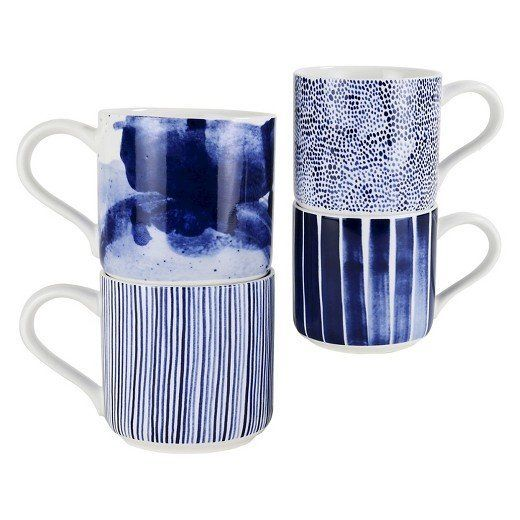 "Get them <a href=""https://www.target.com/p/robert-gordon-174-indigo-brush-organic-shape-mug-11-8oz-set-of-4/-/A-51367443"" tar"