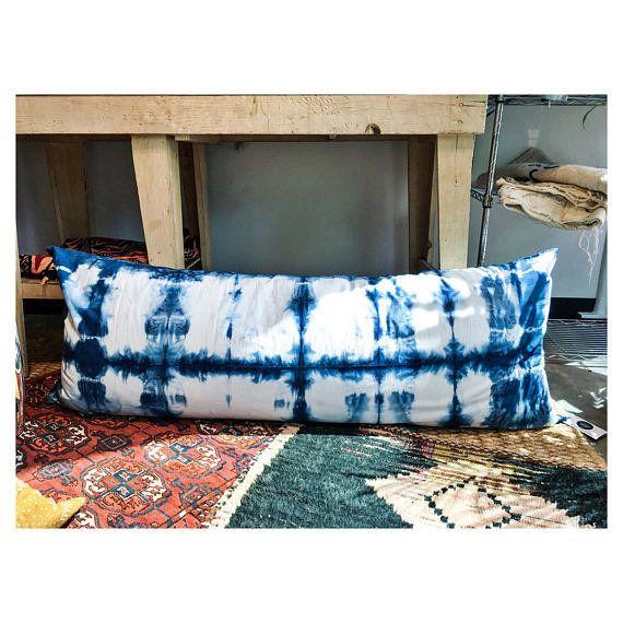"Get it <a href=""https://www.etsy.com/listing/251804101/indigo-body-pillow-cover-shibori"" target=""_blank"">here</a>."