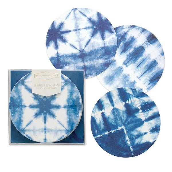 "Get it <a href=""https://www.amazon.com/Designworks-Ink-Pulpboard-Coasters-Shibori/dp/B06XFXVMCF/?tag=thehuffingtop-20"" target"