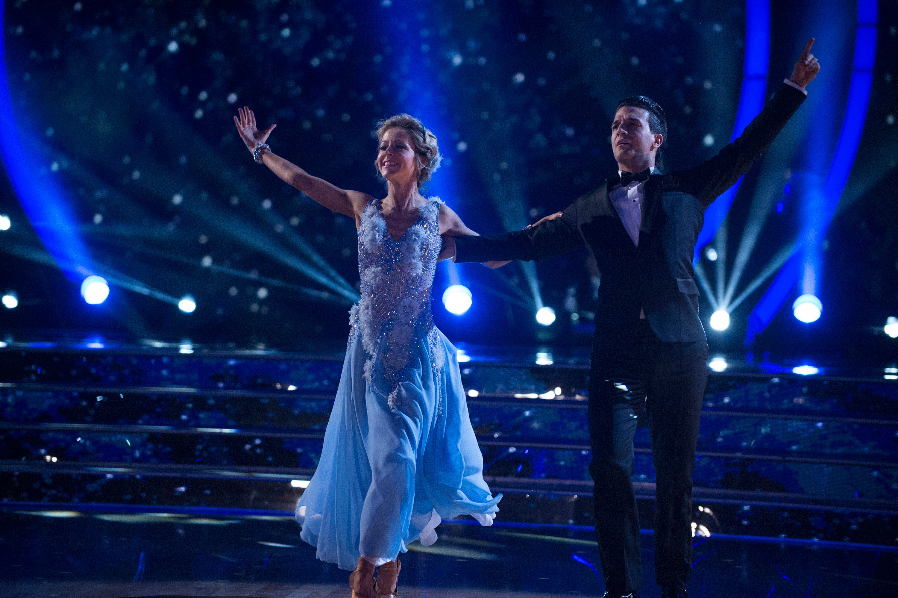 DANCING WITH THE STARS - 'Episode 2505' - The 10 remaining celebrities will transform into some of the most magical Disney characters from their favorite Disney films and celebrate the magnificence of 'Disney Night,'  on 'Dancing with the Stars,' live, MONDAY, OCTOBER 16 (8:00-10:01 p.m. EDT), on The ABC Television Network. ABC/Eric McCandless / ABC Via Getty Images) LINDSEY STIRLING, MARK BALLAS