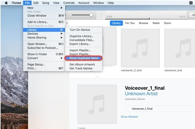 Consolidating itunes library failed relationship