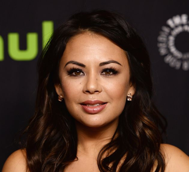 Janel Parrish at a PaleyFest screening of