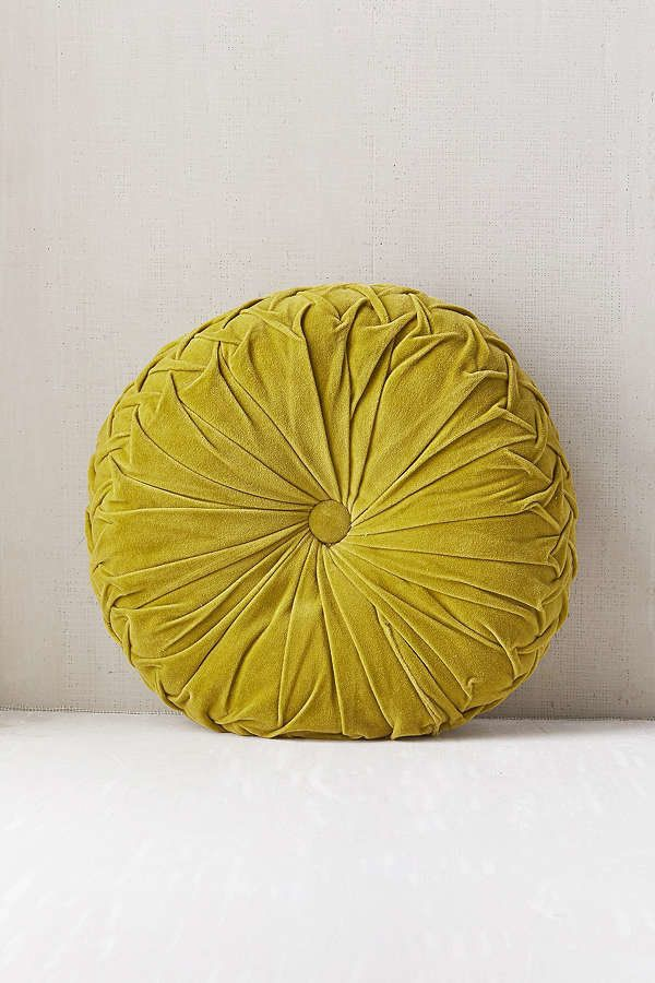 "Get it <a href=""https://www.urbanoutfitters.com/shop/round-pintuck-pillow?category=decorative-pillows-throw-blankets&colo"