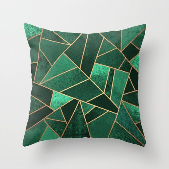 "Get it <a href=""https://society6.com/product/emerald-and-copper-lines_pillow#s6-3530809p26a18v129a25v193"" target=""_blank"">her"