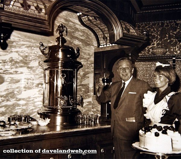 Walt in the Plaza Inn