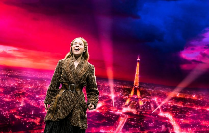 Christy Altomare in a star-making performance as the mighty princess, liberated from the bonds of fairy-tale convention. The