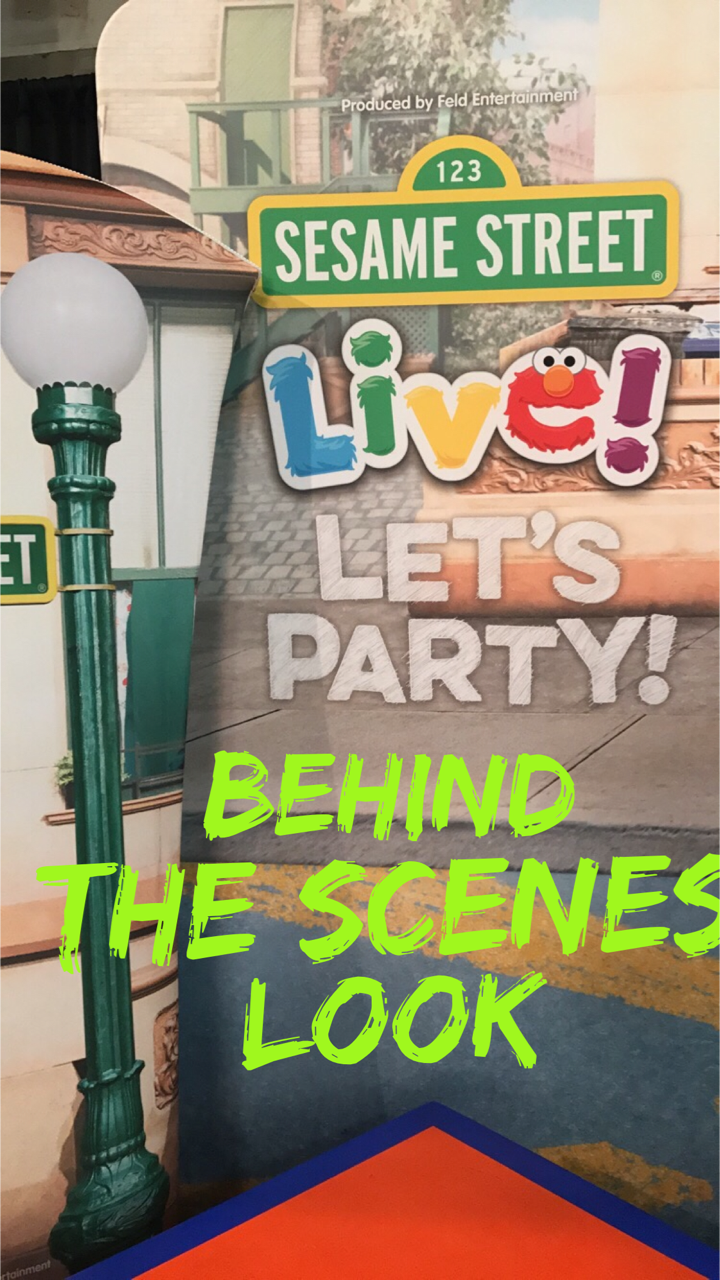 Sesame Street Live! Let's Party Behind-the-Scenes Advanced Look