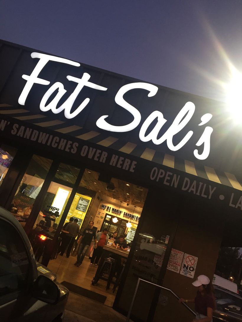 Fat Sal's—home of oversize, hearty grub.