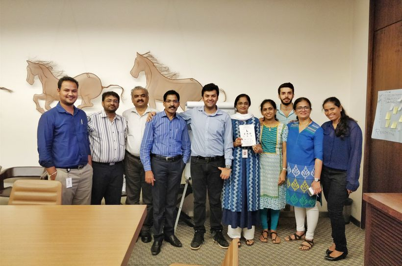 Happy faces from our Corporate program in India