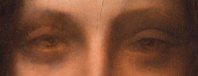 Detail, Salvator Mundi (c. 1500) – the sfumato effect