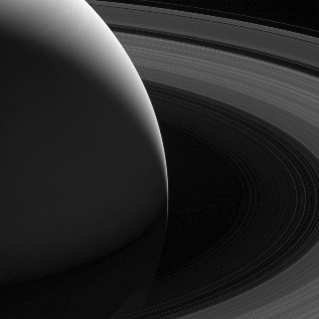 Although It's Gone, Cassini Left Us With One Of The Best Images Of Saturn Ever