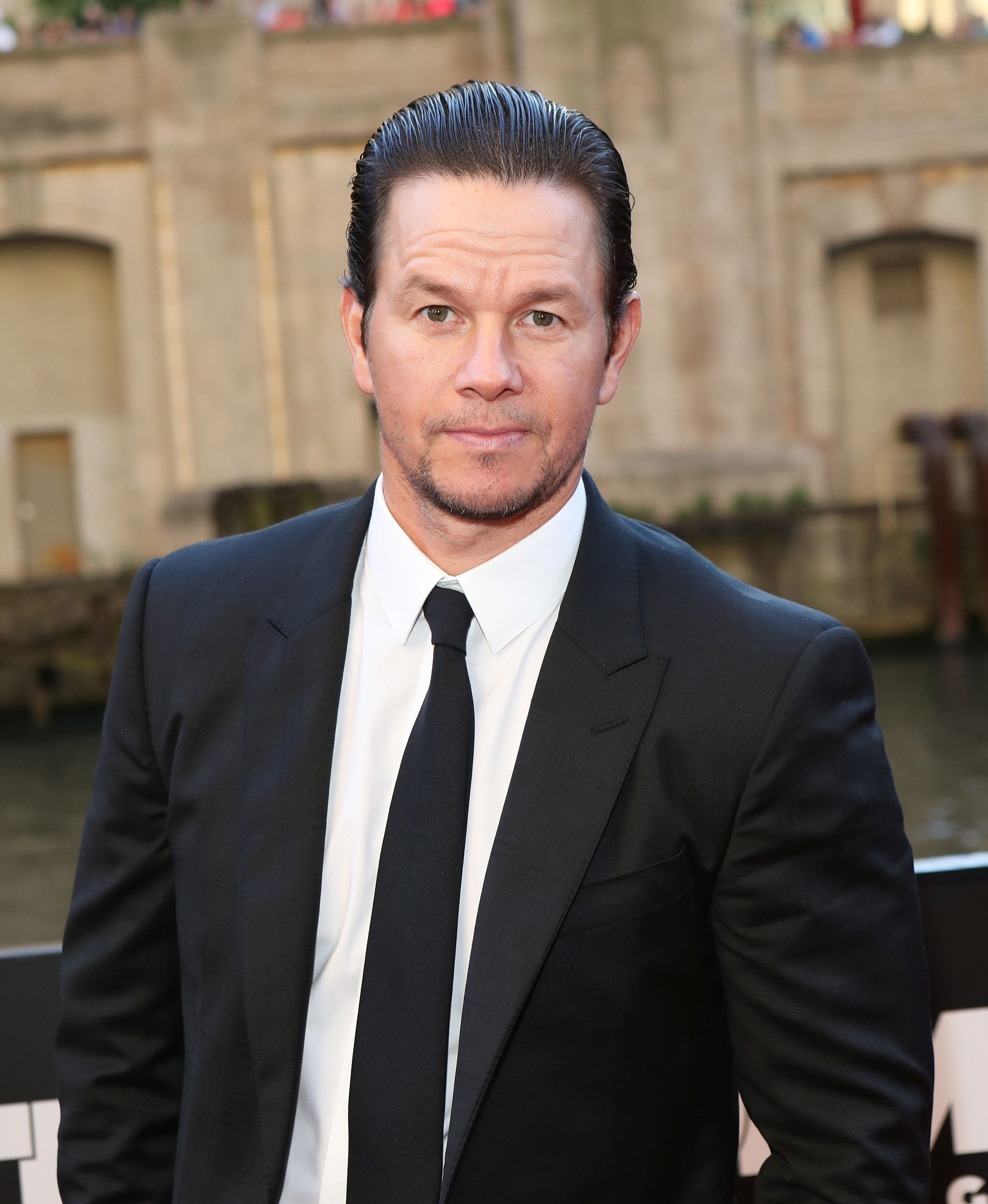 CHICAGO, IL - JUNE 20:  Mark Wahlberg arrives for the premiere of 'Transformers: The Last Knight' at Civic Opera Building on June 20, 2017 in Chicago, Illinois.  (Photo by Gabriel Grams/FilmMagic)
