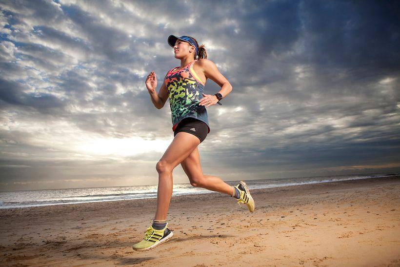 Susie Chan, endurance runner.