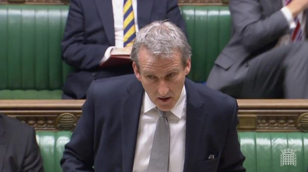 Minister Damian Hinds responded on behalf of the