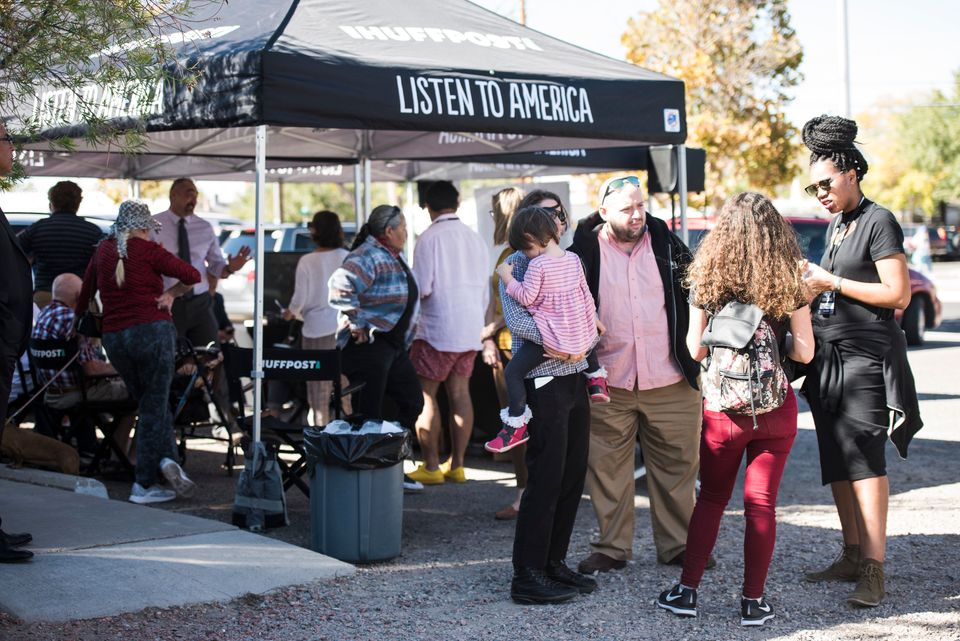 "HuffPost visited Albuquerque, New Mexico, on Oct. 23, 2017, as part of ""Listen To America: A HuffPost Road Trip."" HuffPost&nb"
