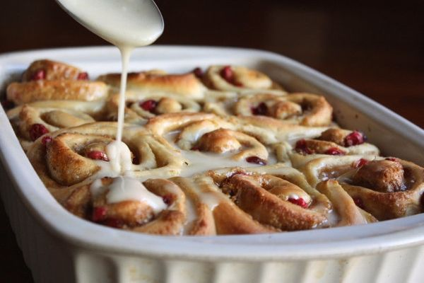 "<strong>Get the recipe for <a href=""http://www.completelydelicious.com/cranberry-orange-cinnamon-rolls/"" target=""_blank"">Cran"