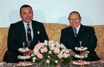 HM King of Morocco Mohammed VI and President of Algeria Abdelaziz Bouteflika