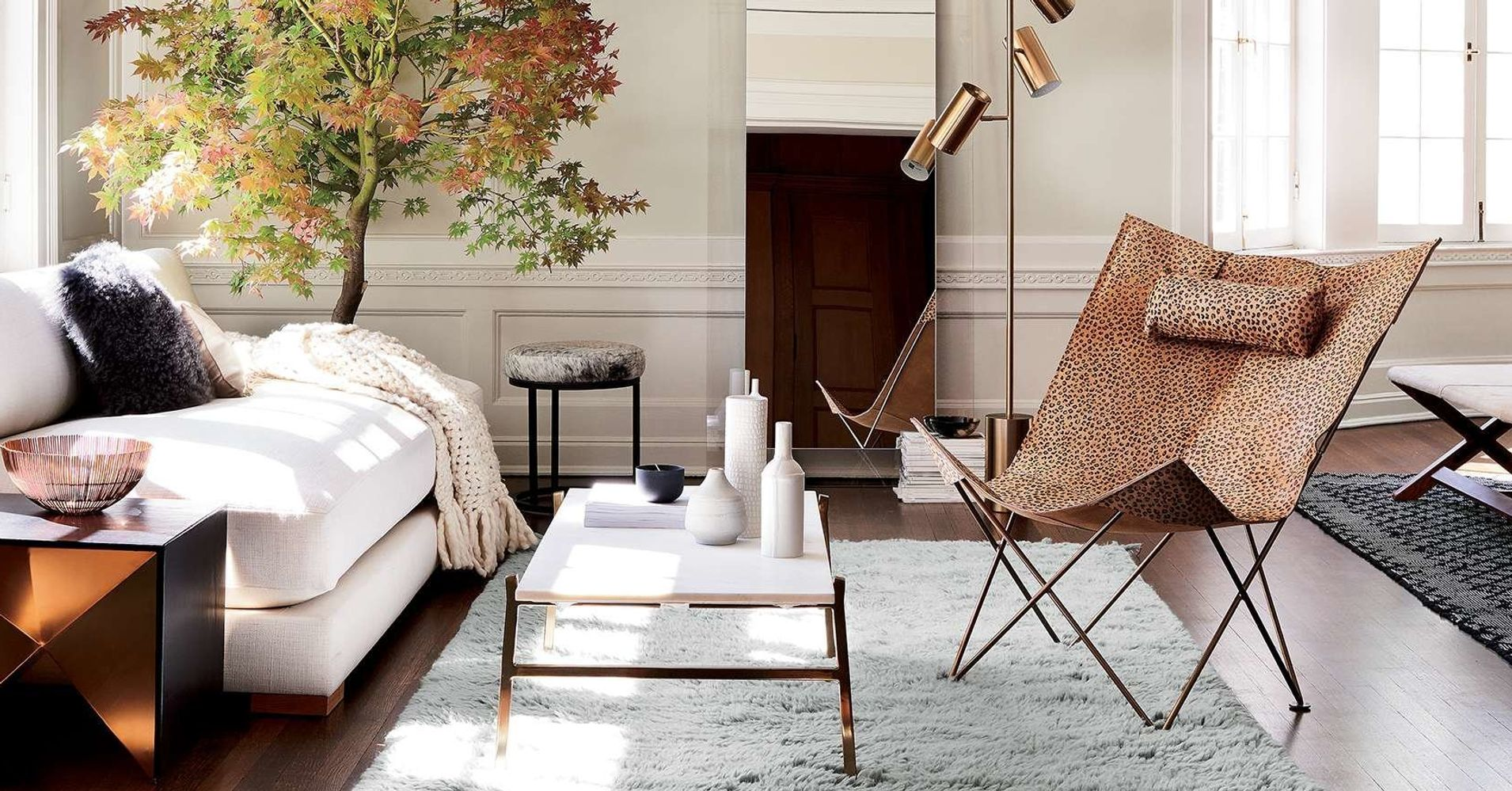 14 furniture stores like west elm to buy mid century modern home decor huffpost. Black Bedroom Furniture Sets. Home Design Ideas