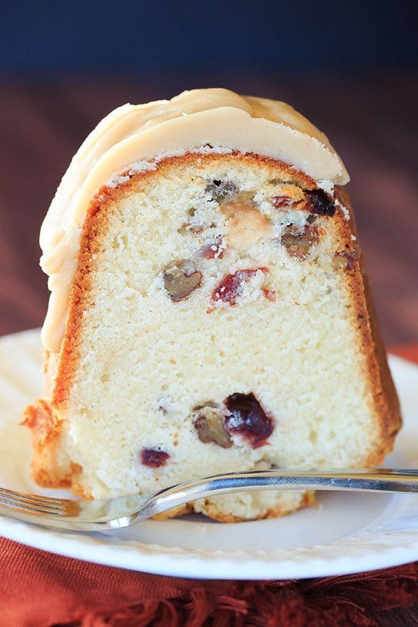 "<strong>Get the recipe for <a href=""https://www.browneyedbaker.com/cranberry-pecan-pound-cake/"" target=""_blank"">Cranberry-Pec"