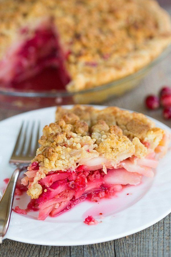 "<strong>Get the recipe for <a href=""https://www.browneyedbaker.com/cranberry-ginger-pear-pie/"" target=""_blank"">Cranberry Ging"