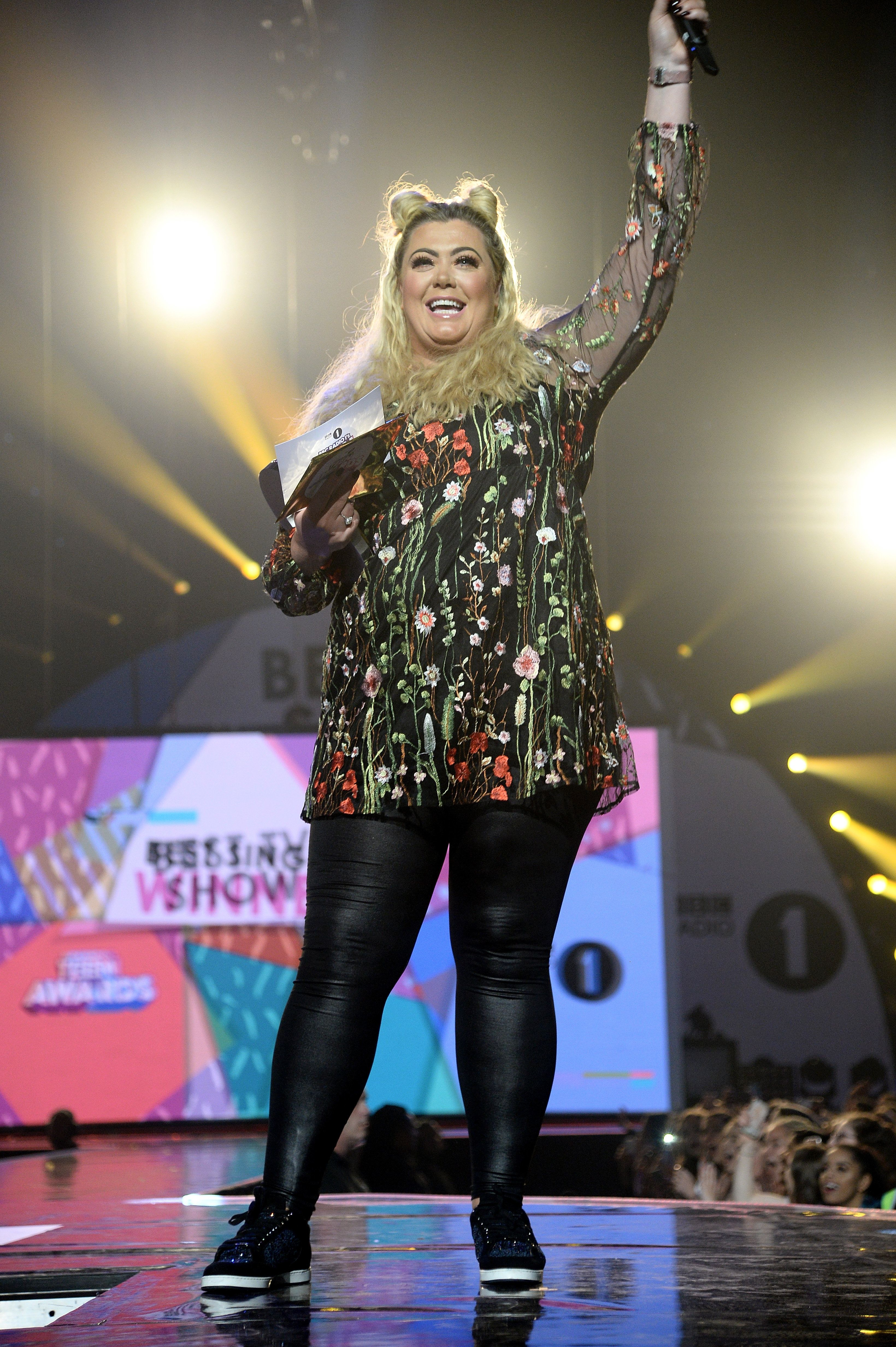 Gemma Collins Is Hoping PR From *That* Fall Will Help Boost 'TOWIE'