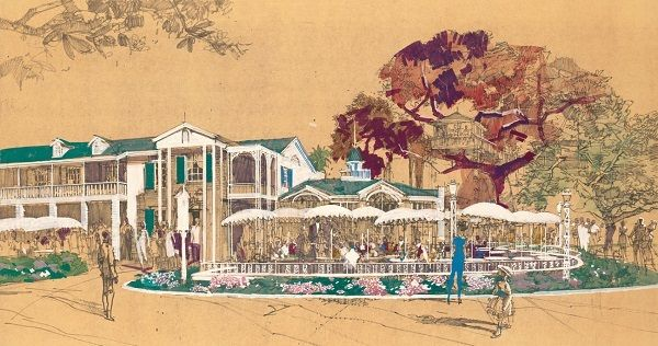 Sketch of Aunt Jemina's Kitchen/Disneyland