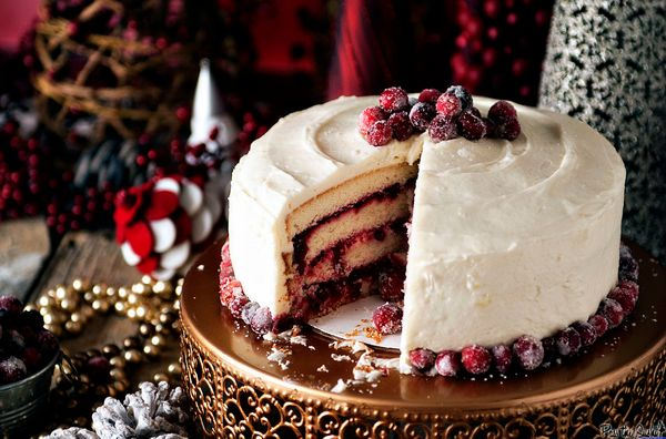 "<strong>Get the recipe for <a href=""https://passthesushi.com/holiday-party-tips-and-a-killer-cranberry-vanilla-bean-cake/"" ta"