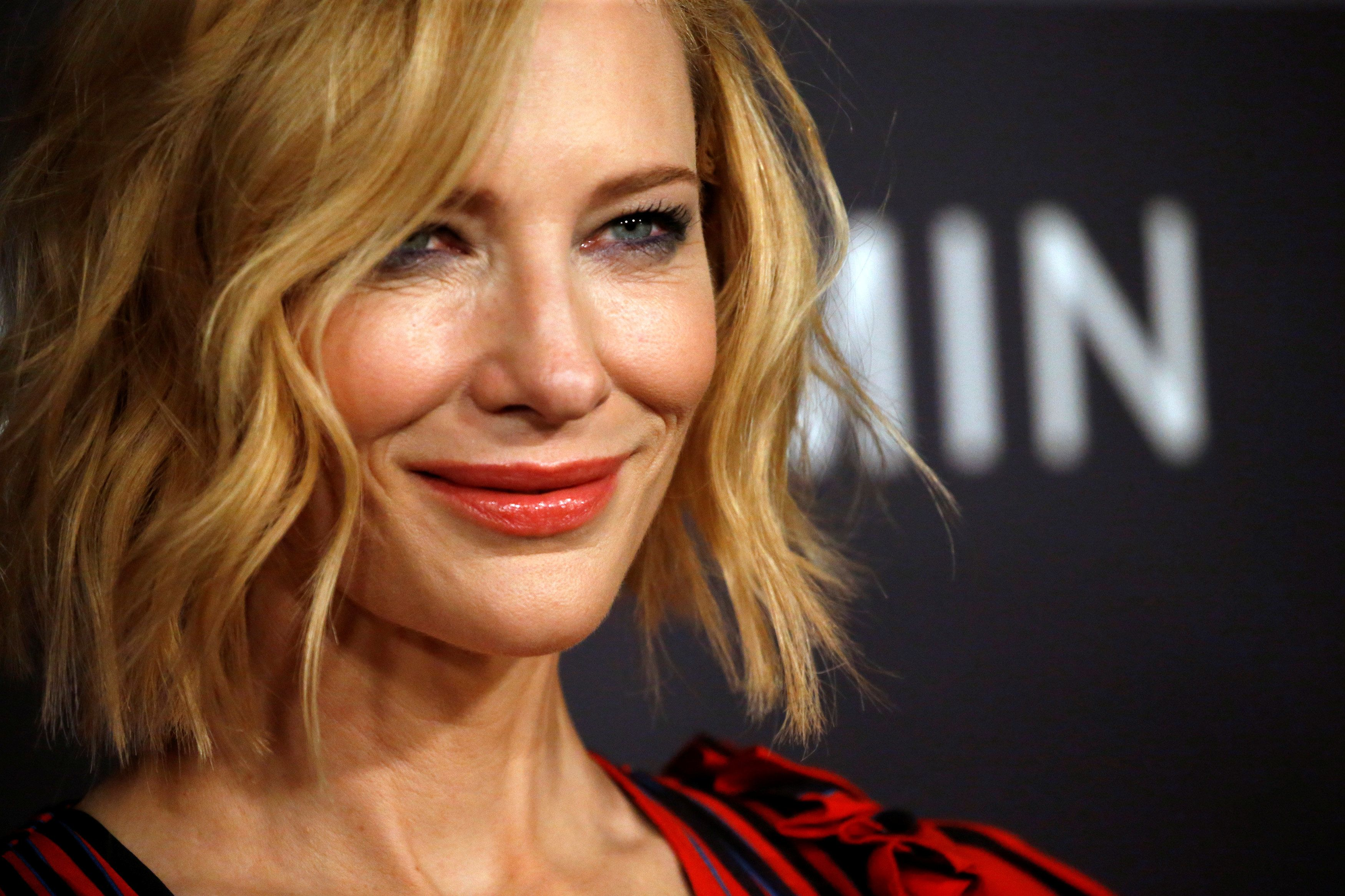 Actor Cate Blanchett poses at the third annual InStyle Awards in Los Angeles, California, U.S., October 23, 2017. REUTERS/Mario Anzuoni