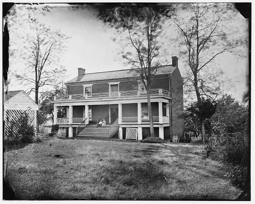 The original McClean house was torn down in 1893 by speculators who hoped to make money by exhibiting it at world fairs.  The